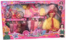 Perfect Style Doll Set Designed For Girls Who Love To Play With Dolls While Enjoying Their Down Time