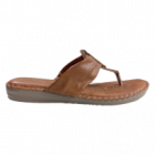 Dr Comforts Chapple/Slipper For Women (Brown)