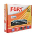 Fury Free To Air DTH Setup Box with Remote  Control and 3RC Lead