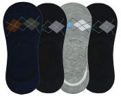 Fragranced Loafer Socks with Anti-Slip Silicone Unisex Multi-Colors (Pack of 5 pairs)
