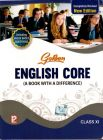 Golden English Core ( A Book With A Difference) – Class  Xi V
