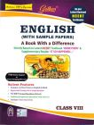 English (With Sample Papers) A Book With A Difference – Class Viii Book