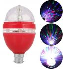 Exclusive Stylish & Best 360 Degree Rotating LED Bulb, LED Disco Light for Party & Function Decoration (Pack of 1)