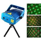 Exclusive & Best LED Laser Projector Mini Stage Light Festival, Disco Party Club Shower Laser Light (Pack of 1) | (Blue)
