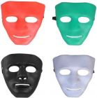 PTCMART Halloween Ghost Cosplay Masquerade Party Mask (Multicolor, Pack of 4)
