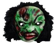 PTCMART GHOST MASK HALLOWEEN Face Mask For kids Party Mask (Multicolor, Pack of 1)