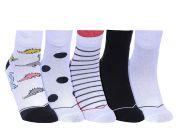 Men's Funky Fragrance Ankle Socks (Pack of 5)