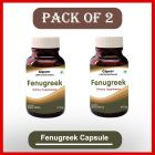 Natural Fenugreek 60 Capsule For Blood Sugar Control (Pack of 2)