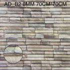 Foaming Sheet Decorate Wall And Easy To Install (Multi-Color) | (AD-B2) (8 MM)