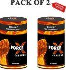 CIPZER FORCE X 60 CAPSULE|Penish Enlargement Medicine Hammer Of Thor For Enlargement|Ling Lamba Mota Karne Ki Dawai  (Pack of 2)