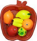 Fruit Basket, Chu Chu Set For Toddler Babies, Kids Sweet Cuddle Colorful, Non Toxic Set (Pack Of 6)