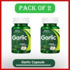 Buy Cipzer Natural Garlic 60 Capsule for Beneficial in Reducing Blood Pressure (Pack of 2)
