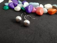 Astrogemsindia Natural and Fashionable 92.5 Sterling Silver Round Pearl Earring for Women & Girls