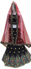 Jashikthaindustries Stylish & Fashionable Beautiful Lehenga Choli | Work Sequence+Multi For Women's
