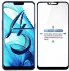 YadavEnterprises Best & Strong Edge To Edge Strong Tempered Glass for OPPO A5, Oppo A3s, Realme 2, Realme C1