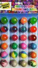 Kids Crazy Bouncy Jumping Balls Set (24 Crazy Balls) Children Gift Birthday Gift (6 assorted colors)