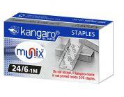 Kangaro 24/6 Staples Office/School Essentials (20 Packs in a Box)   (Original)