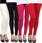 GOOFFI Stylish & Fashionable Pure Cotton Churidar Legging