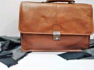 Elegant Exclusives Designer Leather Briefcase Bag for Men | 15.6'' Laptop | Multiple Compartment | Expandable Features| Combination Lock For Men's and Women's