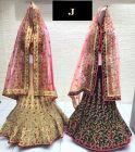 Jashikthaindustries Stylish & Fashionable Beautiful Lehenga Choli | Multi Work For Women's (Pack Of 1)