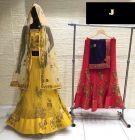 Jashikthaindustries Stylish & Fashionable Beautiful Lehenga Choli Perfect For Women's (Basic Fabrics: Mono-Net & Multi: Work)