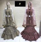 Jashikthaindustries Stylish & Fashionable Beautiful Lehenga Choli For Women's (Gota+Multi Work)
