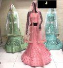 Jashikthaindustries Stylish & Fashionable Lehenga Choli For Women's (Pack Of 1)