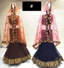 Jashikthaindustries Stylish & Fashionable Beautiful Lehenga Choli For Women's (Ghera 7+)
