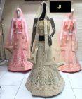 Jashikthaindustries Stylish Beautiful Lehenga Choli Perfect choice For Women's (Blouse & Inner Fabric: Butter Crape)