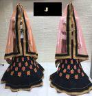 Jashikthaindustries Stylish & Fashionable Beautiful Lehenga Choli For Women's (Fabric Butter Crape)