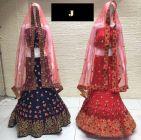 Jashikthaindustries Fashionable Beautiful Lehenga Choli For Women's (Dupatta Fabrics: Mono-Net)