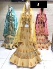 Jashikthaindustries Fashionable Beautiful Lehenga Choli Perfect Choice For Women's (Dupatta Available Color: Yellow, Pink, Blue)