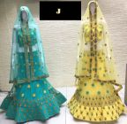 Jashikthaindustries Stylish & Fashionable Beautiful Lehenga Choli For Women's (Work: MULTI+JARI)