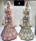 Jashikthaindustries Stylish & Fashionable Beautiful Lehenga Choli For Women's (CODDING+SILVERCODDING Work)