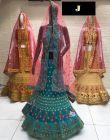 Jashikthaindustries Stylish & Fashionable Beautiful Lehenga Choli   Mono-Net Dupatta Fabric For Women's