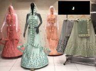 Jashikthaindustries Stylish & Beautiful Lehenga Choli Butter Crape Fabric For Women