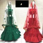 Jashikthaindustries Stylish Beautiful Lehenga Choli Butter Crape Fabric With Multi Work  For Women's