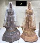 Jashikthaindustries Stylish & Fashionable Beautiful Lehenga Choli | Butterfly-Net Basic Fabric For Women's