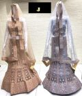 Jashikthaindustries Stylish & Fashionable Beautiful Lehenga Choli For Women's (Basic Fabrics: Butterfly-Net)