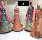 Jashikthaindustries Beautiful Lehenga Choli For Women's (Pack Of 1)