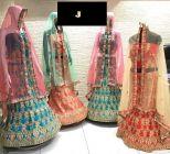 Jashikthaindustries Stylish & Fashionable Beautiful Lehenga Choli For Women's (Dupatta Fabrics: Mono- Net)