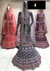 Jashikthaindustries Beautiful Lehenga Choli For Women's (Blouse & Inner Fabric: Bottery Crape)