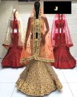 Jashikthaindustries Stylish & Fashionable Beautiful Lehenga Choli For Women's (Basic Fabrics: Mono-Net)