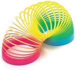 Rainbow Magic Slinky Spring Toy Fun Playing For Kids (Package Dimension :- 16X16X8.0)