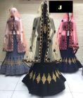 Jashikthaindustries Stylish & Fashionable Lehenga Choli Perfect Choice For Women's (Basic Fabrics: Mono -Net)