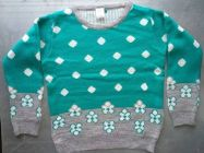 Acrylic Fabric Sweater in Jacquard Style for Girls (Pack of 1)