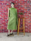 WACA Trendy & Fashionable 100% Cotton Suit Piece With Chikankari Embroidery with chiffon dupatta with a cirosia border for Women's (Pack of 1)   (Color: Green)