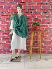 WACA Stylish & Modish Bhagalpuri Silk Cloth Dupatta with Chikankari Work with a Zari Border for Women's (Pack of 1) | (Color: Green)