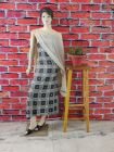 WACA Stylish & Trendy Full Sleeves Unstitched Khadi Silk Suit Piece With Chikankari Embroidery for Women's (Pack of 1) | (Color: Grey)