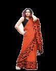Bagrecha Creation Gulzar Vichitra Fabric Saree with Bangalore Silk Blouse (Saree: 5.5 MTR) (Blouse: 8o MTR)